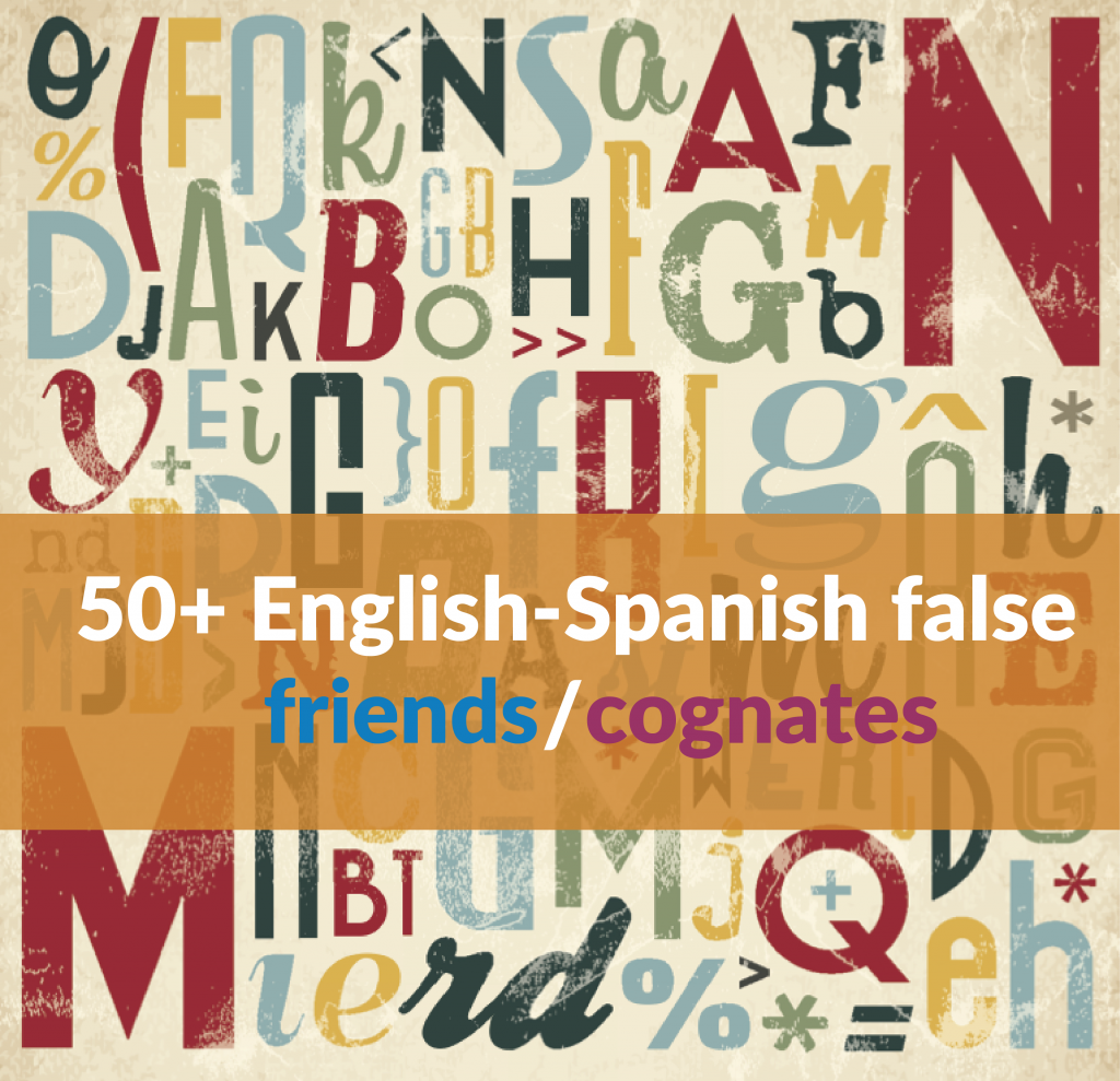 False friends and cognates